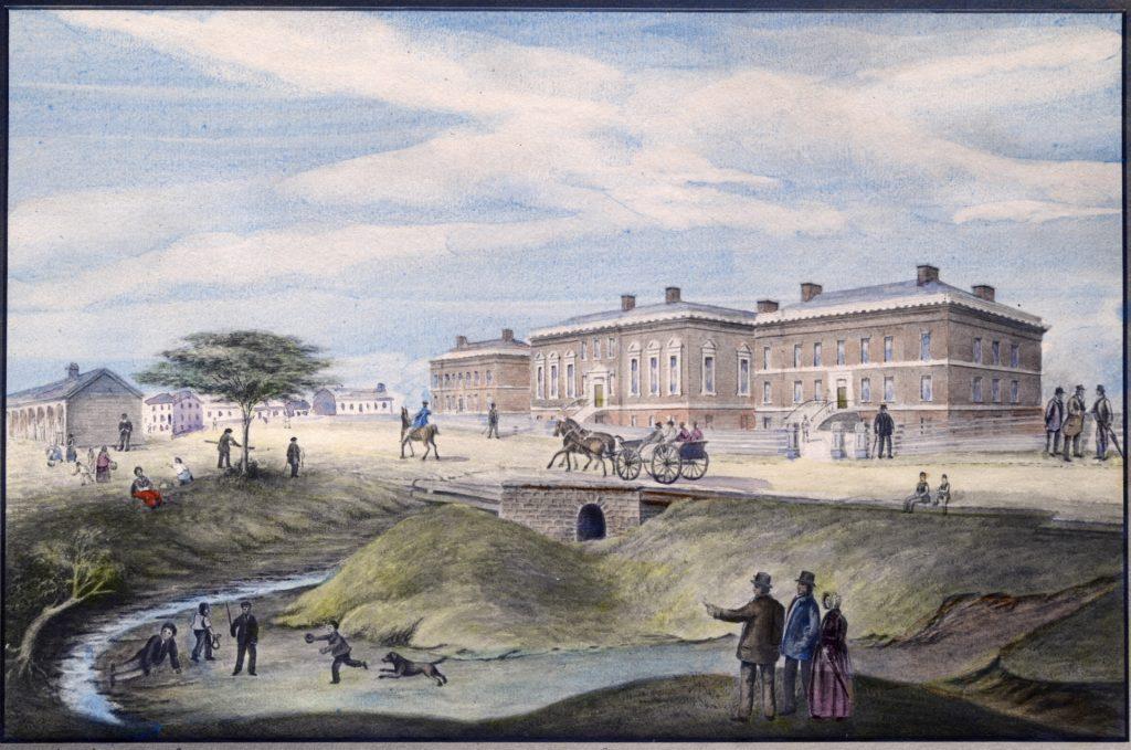 watercolour Toronto 1834