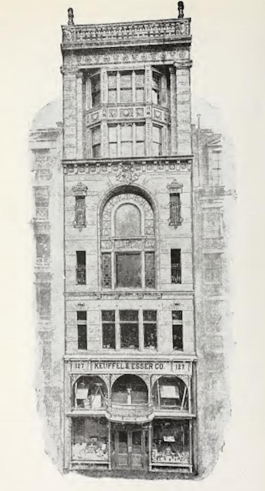 42 Ann facade illustration