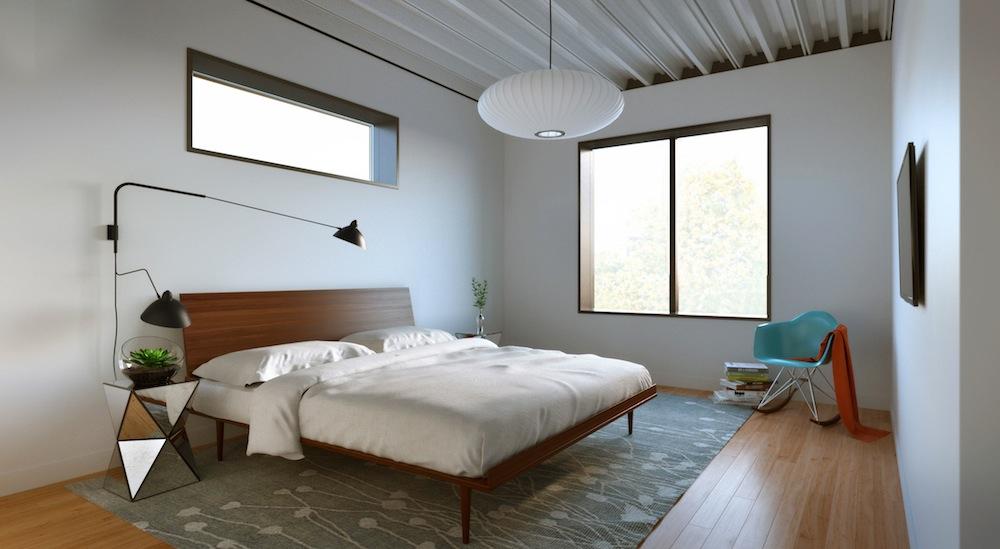 440 Atlantic bedroom