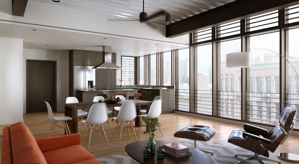 440 Atlantic living room 2