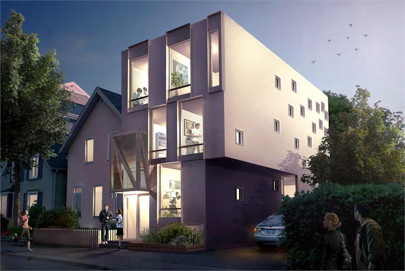 59Percy exterior rendering