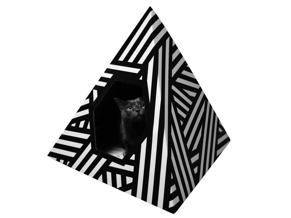 Energy Pyramid Cat Home
