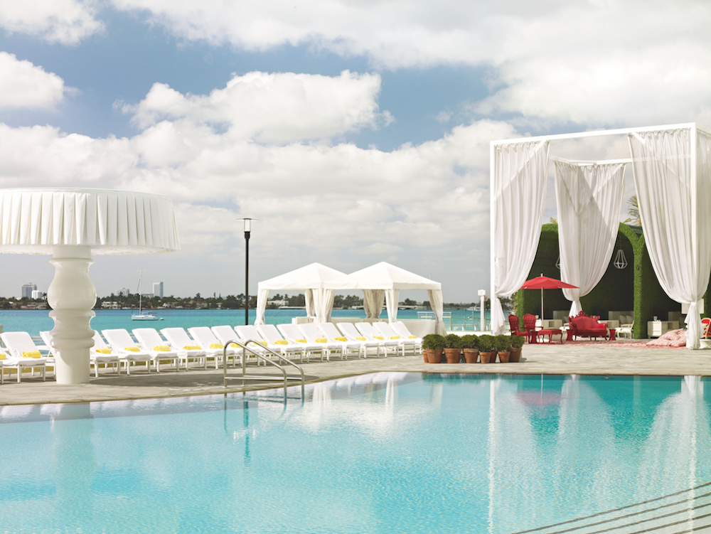 Mondrian South Beach pool