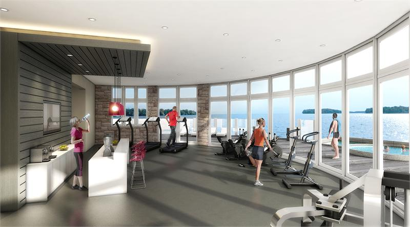 lakeside club rendering
