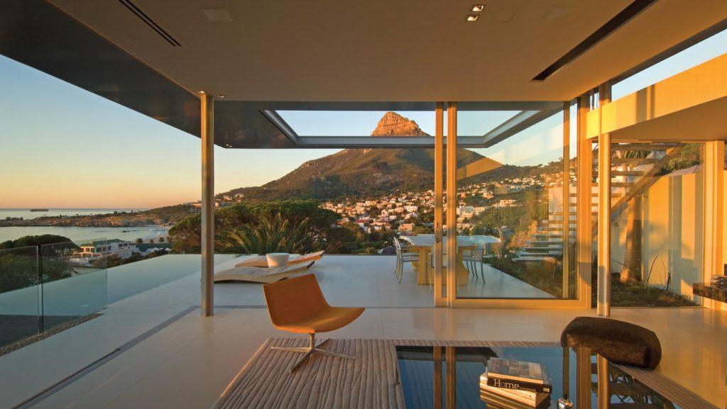 mountain window