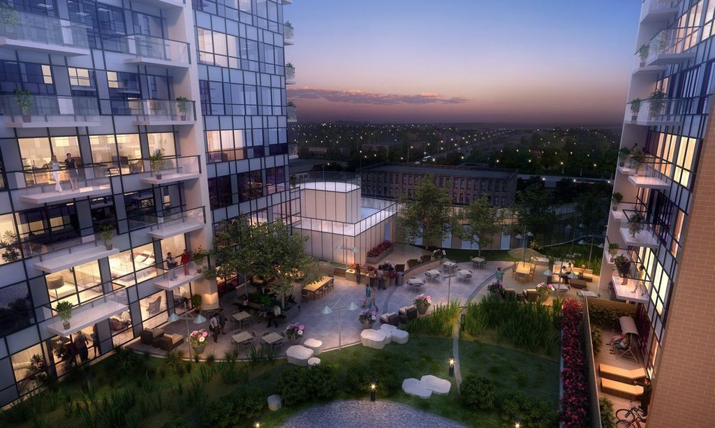 one hundred condos terrace rendering