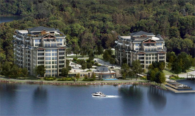 orchard point harbour rendering