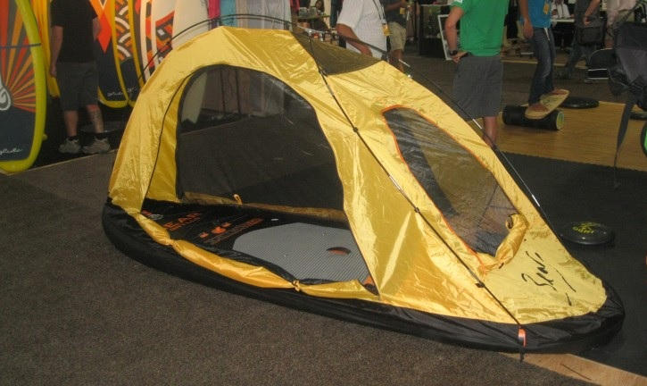 paddleboard tent