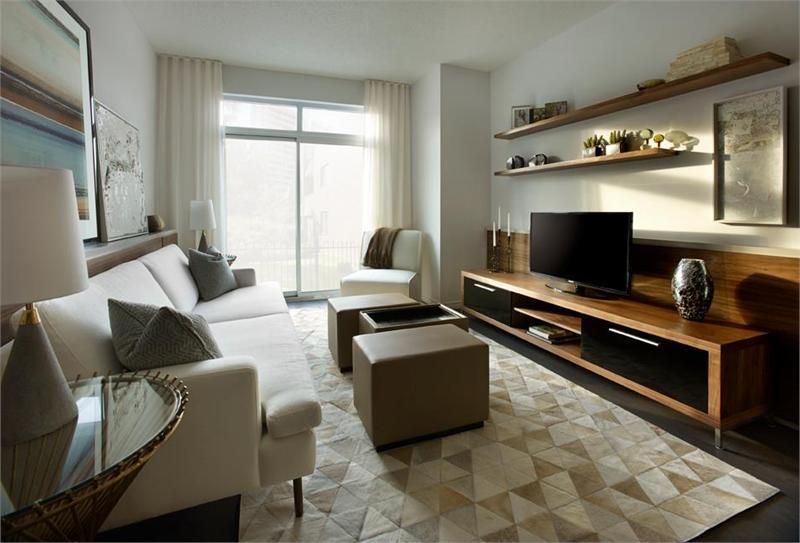 the mark condos model suite