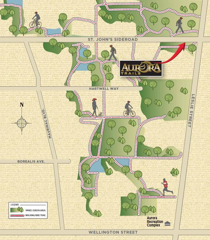 trail map aurora trails