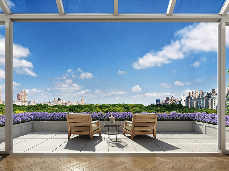 22 Central Park South penthouse