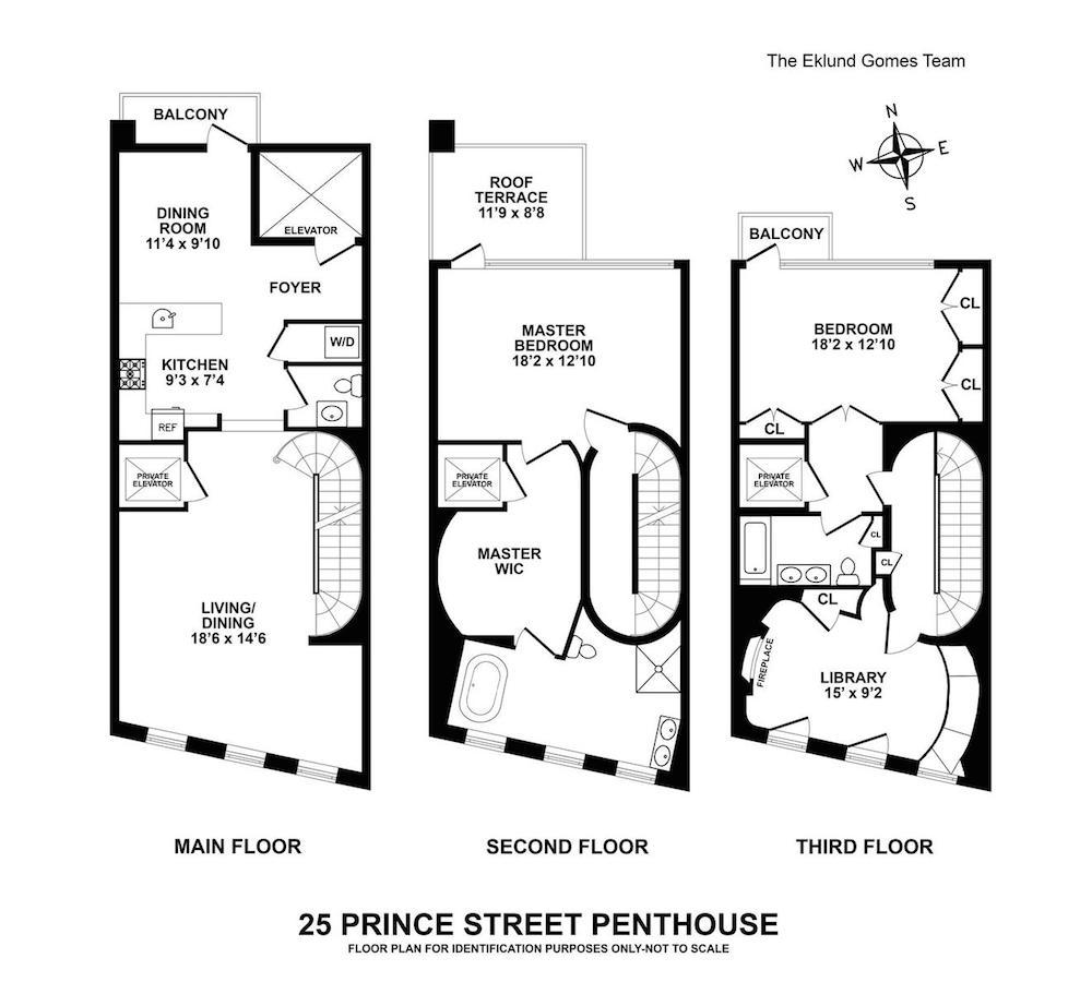 25 Prince Street penthouse fp