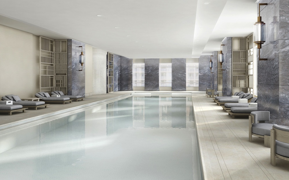 30 Park Place swimming pool