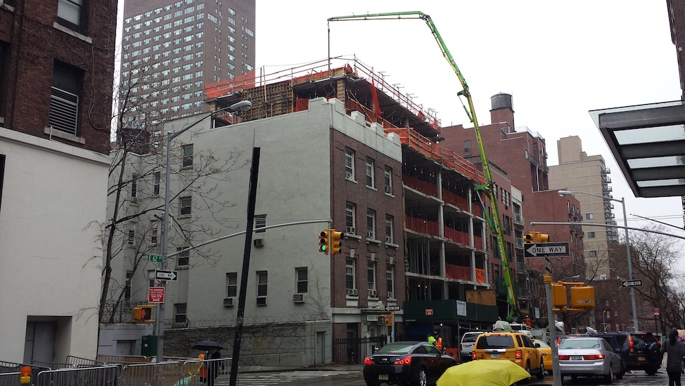 337 East 62nd construction