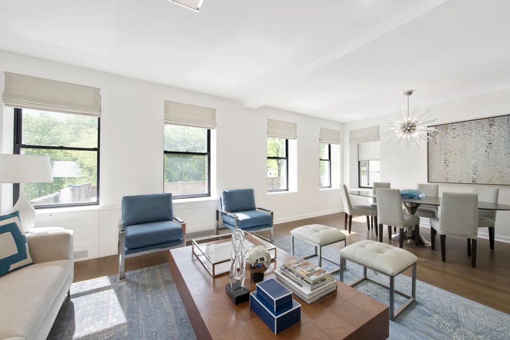478 Central Park West living room 2