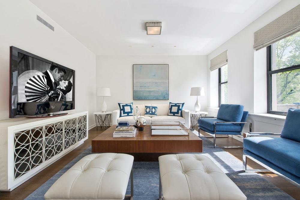 478 Central Park West living room