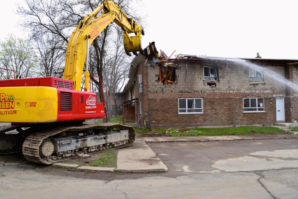 regent park demolition