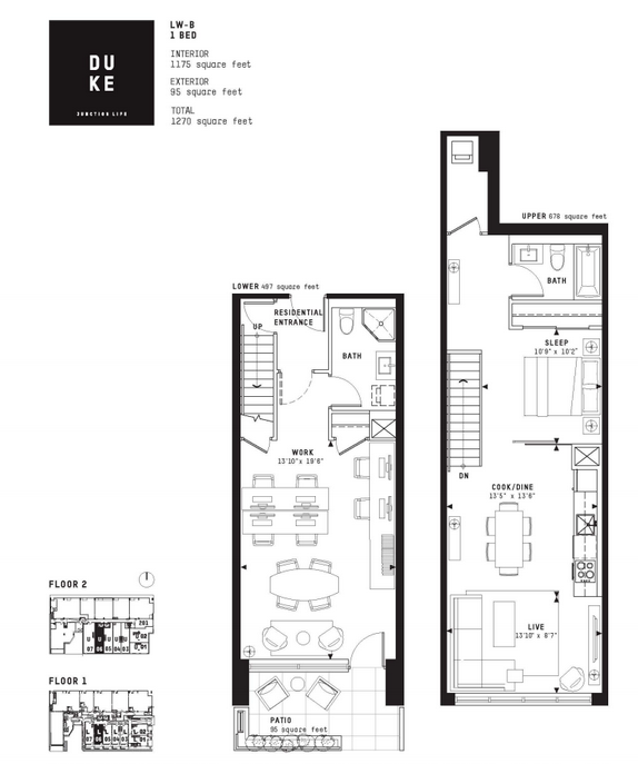 DUKE floorplan