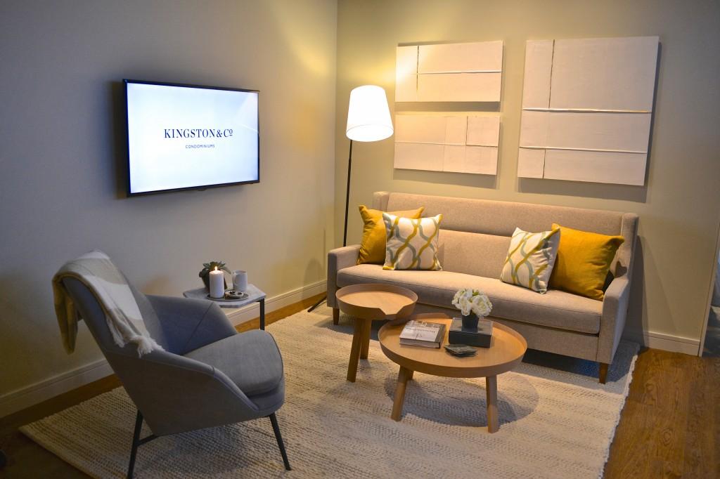 Kingston&Co model living room