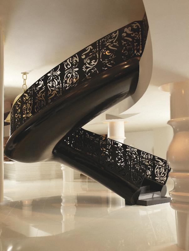 Mondrian South Beach stairway