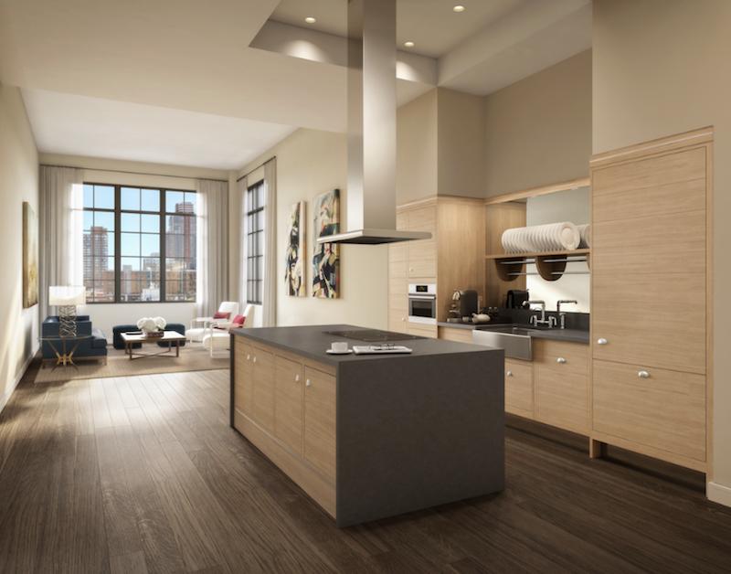 Stella Tower kitchen