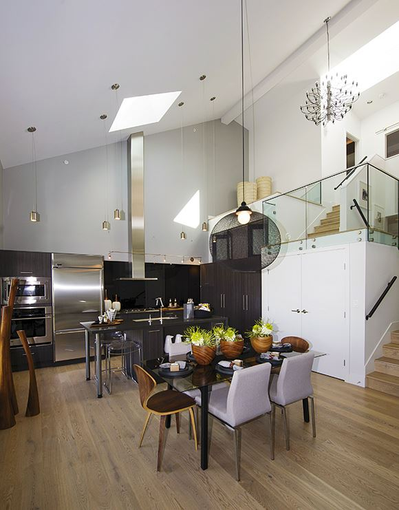 glass house loft penthouse