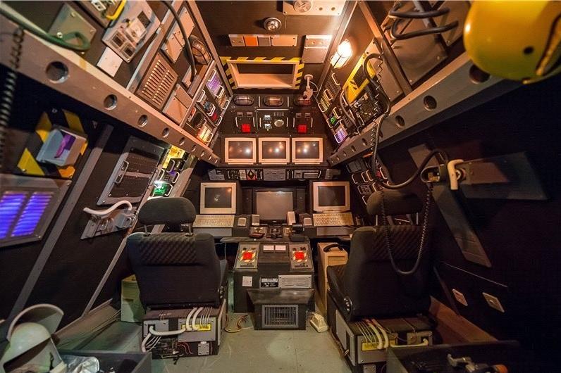 spaceship attic