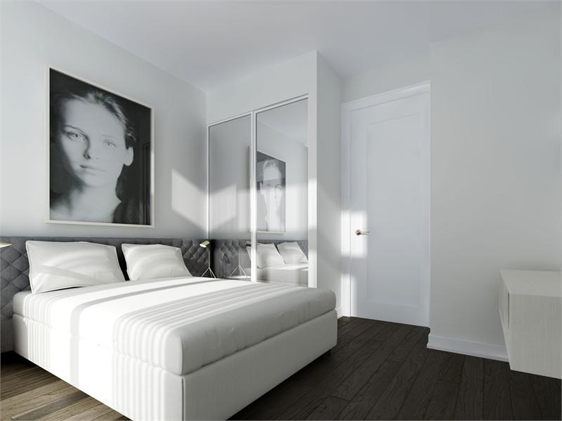ten93 two bedroom master bedroom
