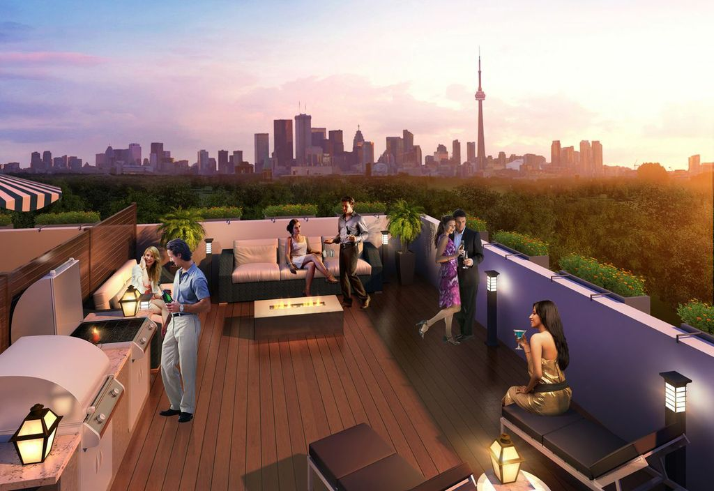 the ossington rooftop rendering