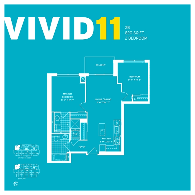 vivid 11 suite layout