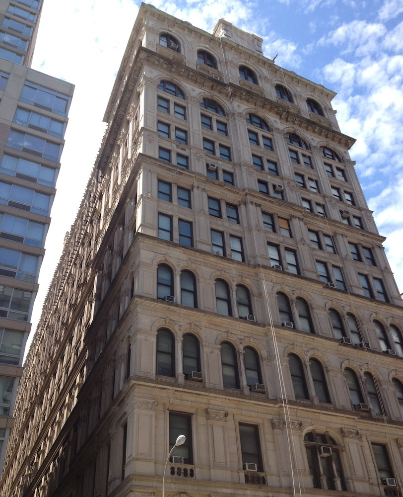 108 Leonard facade