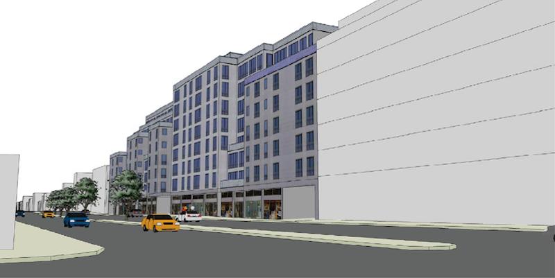 211 McGuinness Boulevard rendering