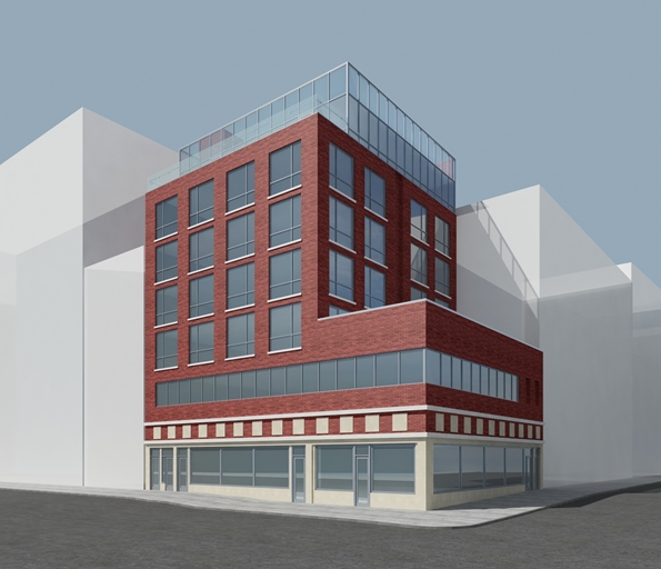 223-227 Grand Street rendering