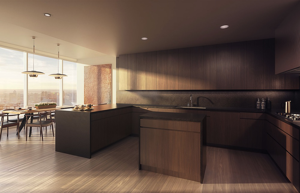 50 West L series kitchen