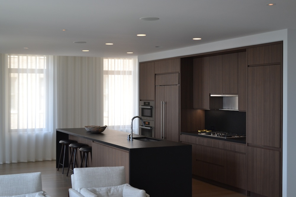 50 West model kitchen 2