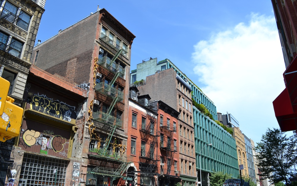 Bond Street block