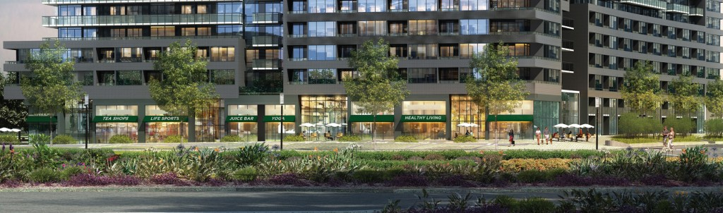 Canary Park retail rendering 1