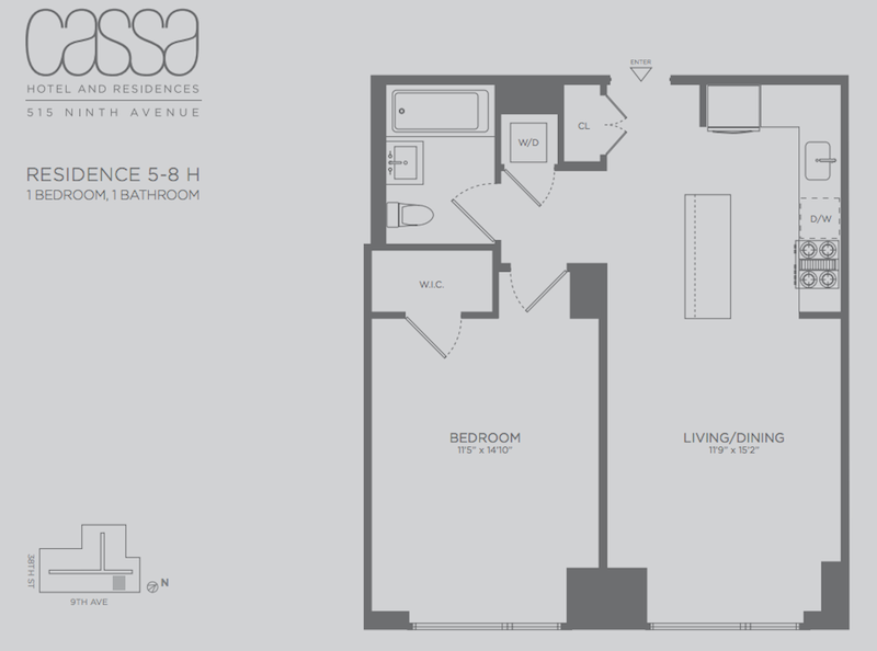 Cassa Residences 1BR