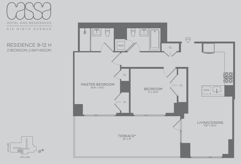 Cassa Residences 2BR fp