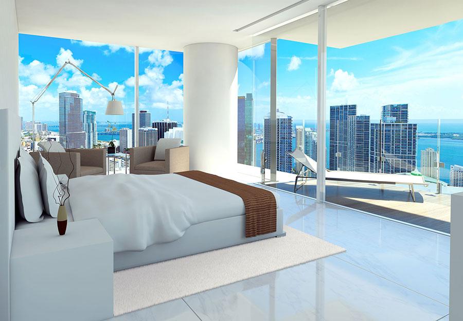 Edge on Brickell bedroom