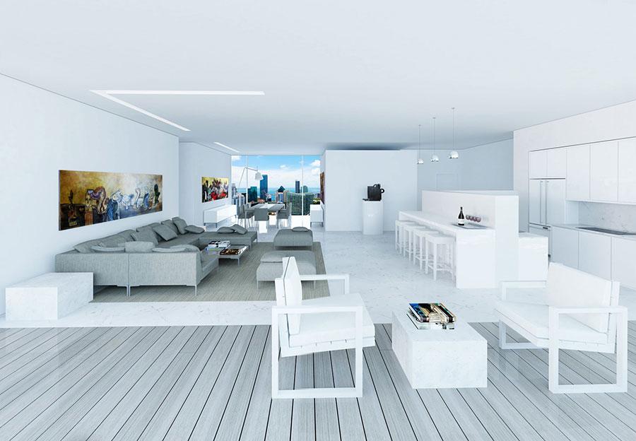 Edge on Brickell living room 1