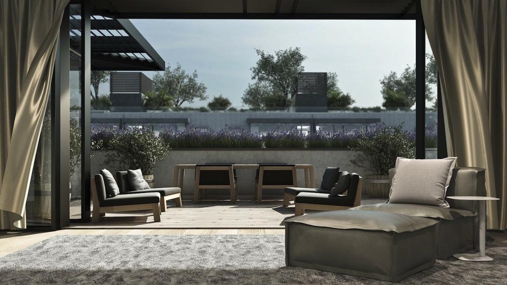 Oosten penthouse