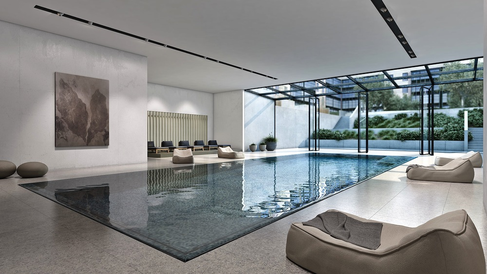Oosten swimming pool indoor