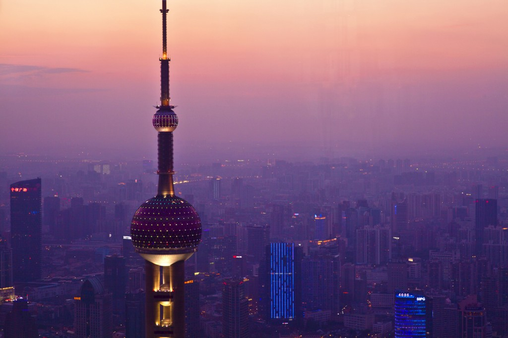 Oriental Pearl Tower view-1