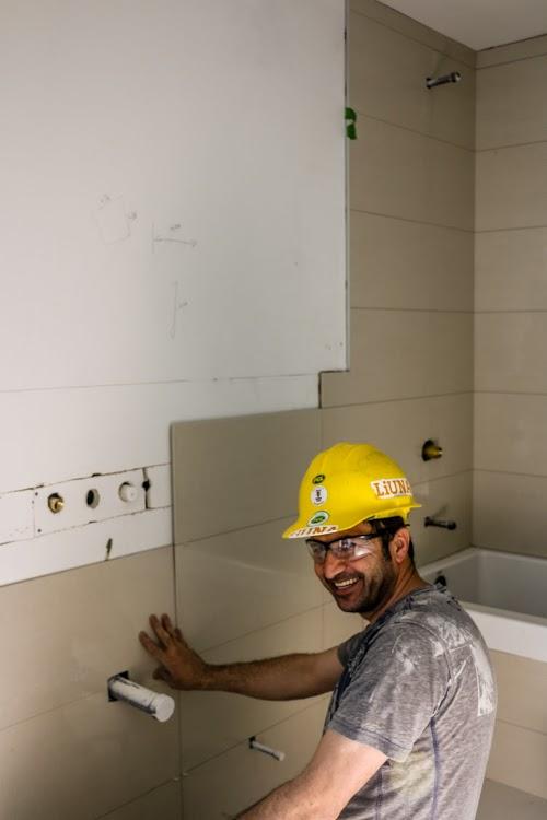 Tile Installation chaz yorkville