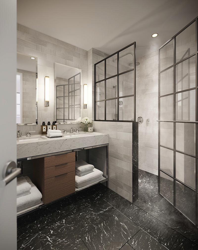234 East 23rd Street master bathroom