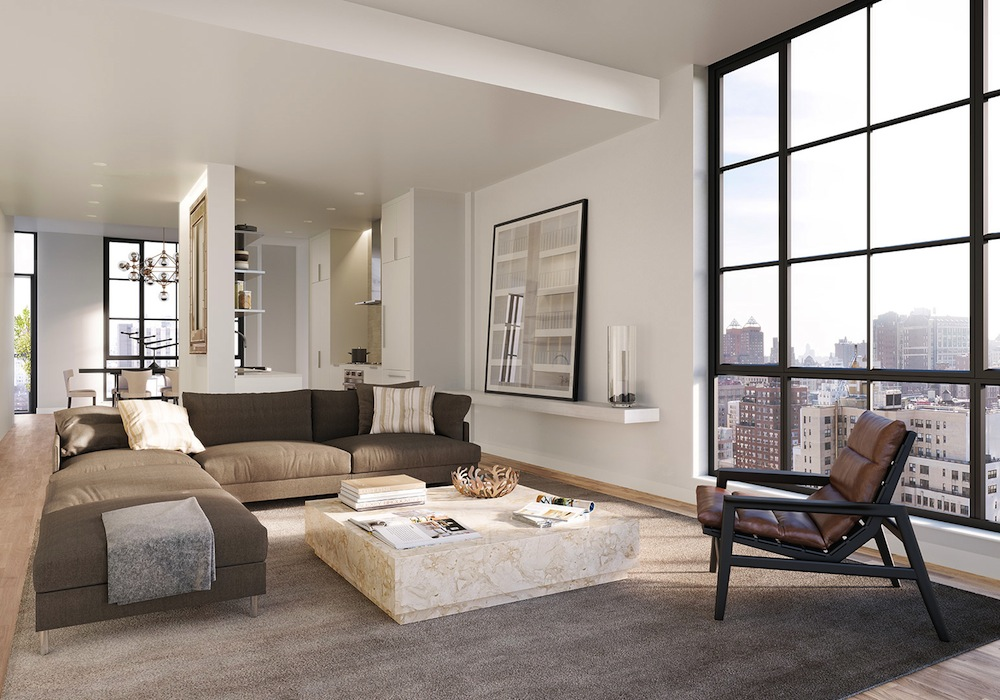 234 East 23rd Street penthouse