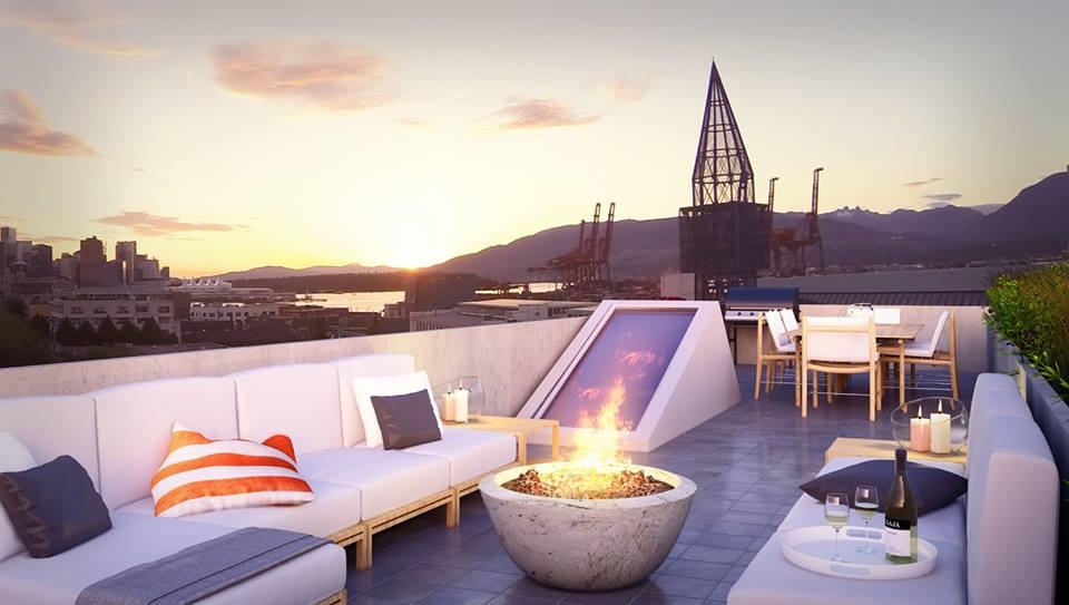 626 Alexander rooftop terrace
