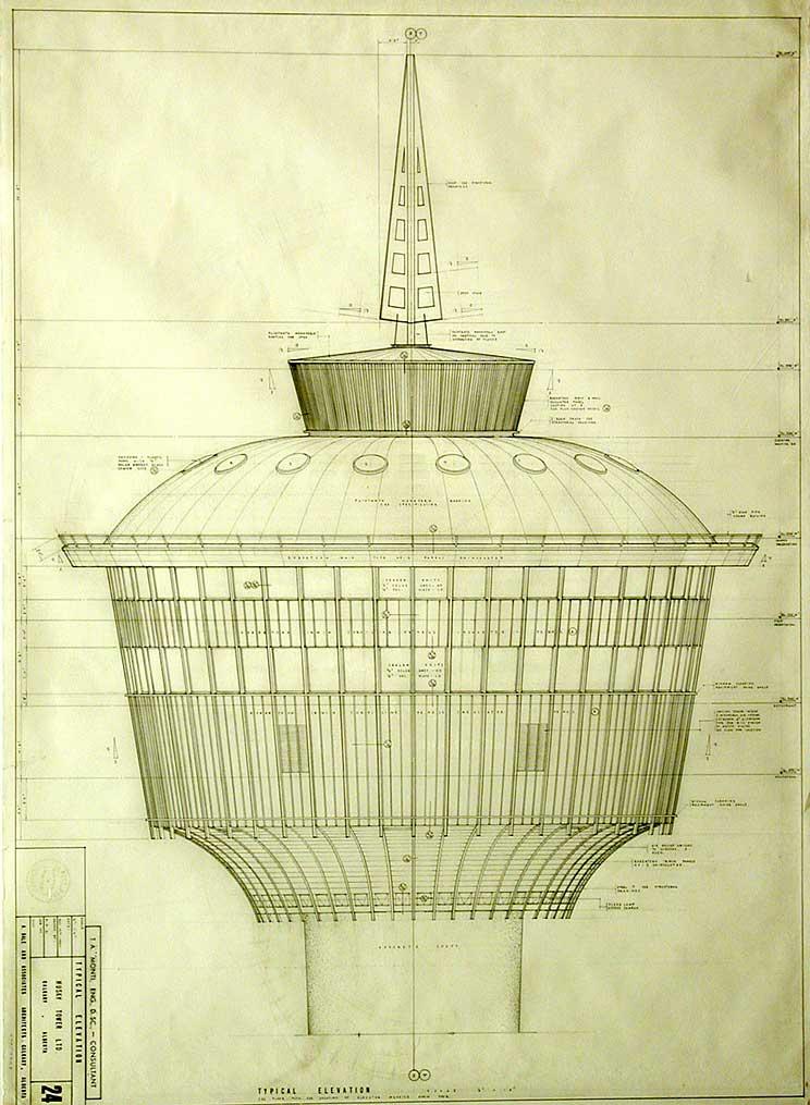 Calgary tower plans