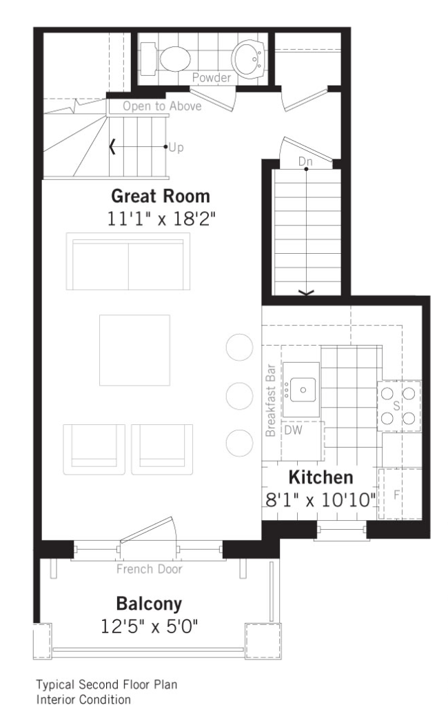 Grand Cornell Brownstones, Soho floorplan